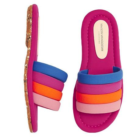 KIDS Maison Mangostan Marmelo Sandal - Multicolour Neoprene Pink