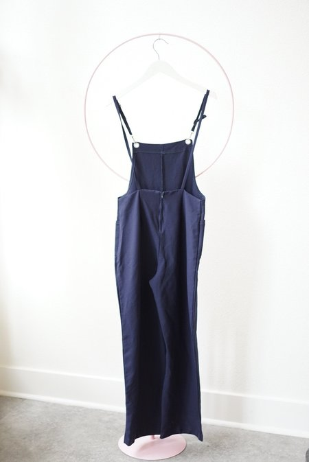 Backtalk PDX Vintage Jumpsuit - Navy