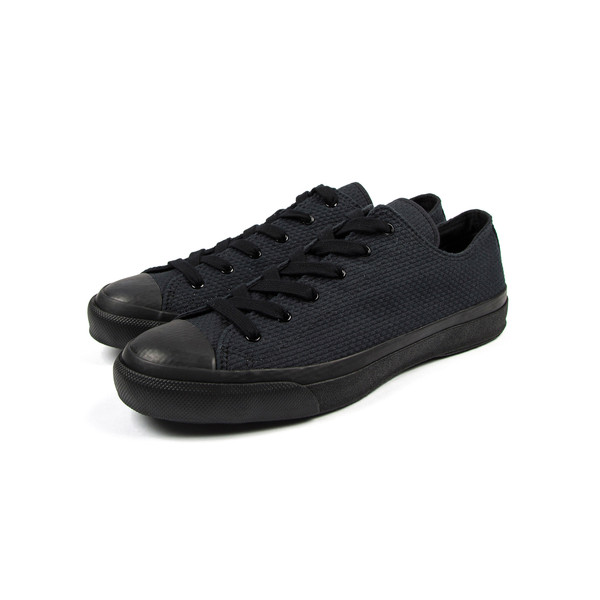 NAKED AND FAMOUS / JAPAN SNEAKER LOW - NOIR