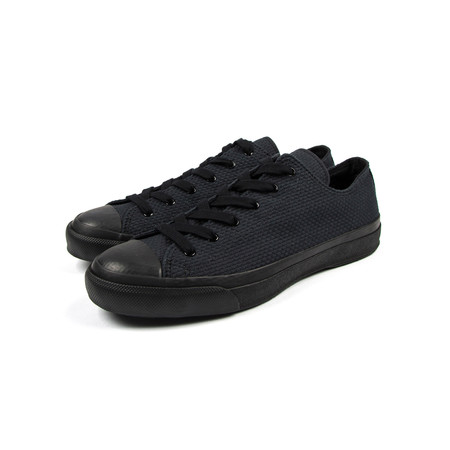 Naked & Famous JAPANESE SNEAKER BLACK