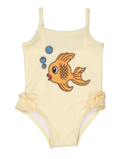 953897d1725ea ... Kids Hugo Loves Tiki Fish Ruffle Swimsuit