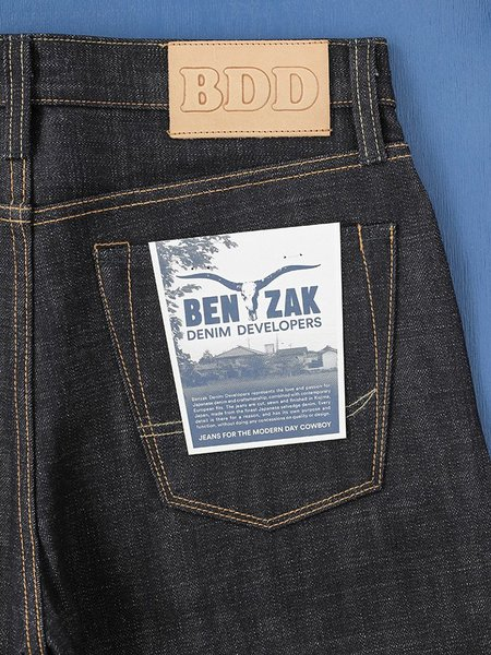 Benzak BDD-711 Heavy Slub Denim Jeans