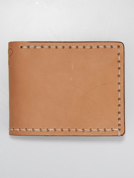 Corter Leather Classic Bifold - Natural