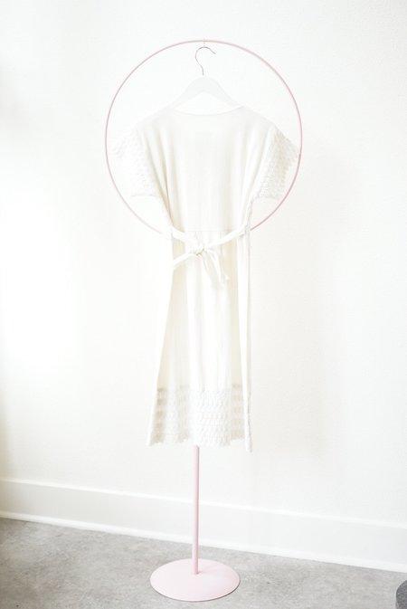 Vintage Backtalk PDX Crochet Top Dress - White