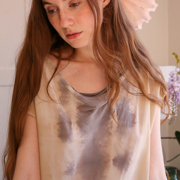 Erica Tanov alba hand-dyed top