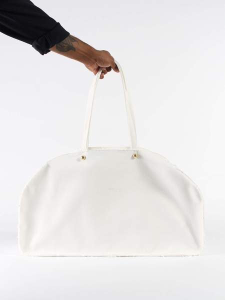 Marché Marché Large Sports Bag - White