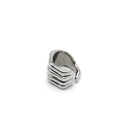 CHRISHABANA XXX CAM4 Jack Ring - White Rhodium plated