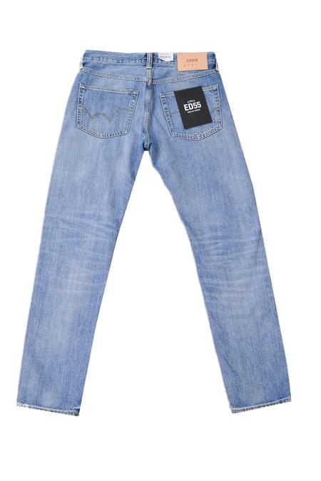 Edwin 55 Regular Tapered Jean - Repair Wash