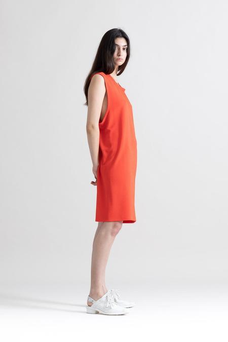 Toit Volant Desert Dress - tangerine