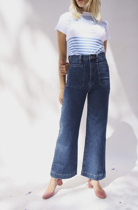 Rollas Jeans Sailor Wide Leg Jeans - blue