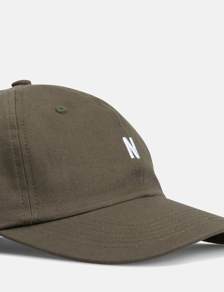 f17af03925250f Norse Projects Twill Sports Cap - Ivy Green ...