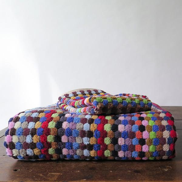 Michele Keeler Multicolored Dot Towel