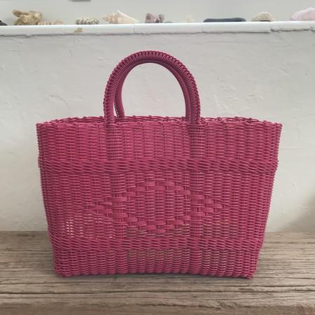 MEX Handmade plastic tote