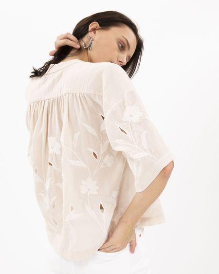 IRO Hiba Top - nude