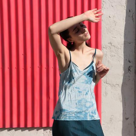 Erica Tanov simone indigo camisole