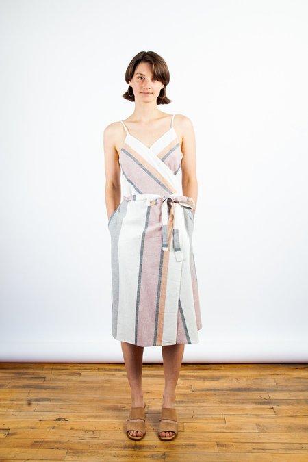 Amanda Moss Bree Wrap Dress