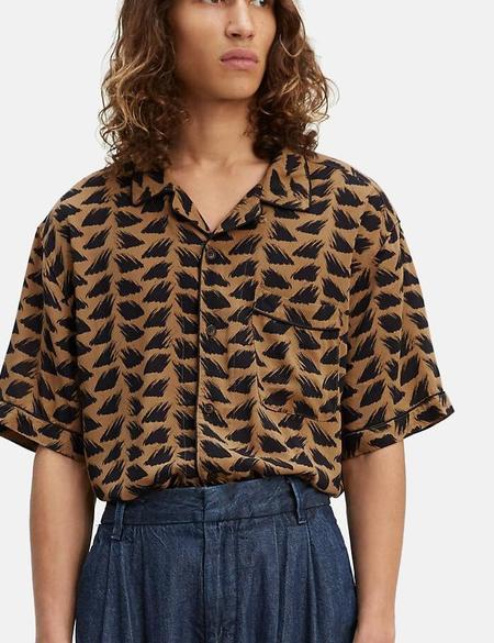 Levi's Made & Crafted Pajama Shirt - Brush Stroke Multi