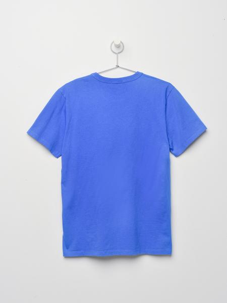 Maison Kitsune TEE-SHIRT PARISIEN - BLUE