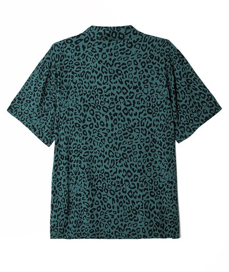 Obey Leo Woven SS Shirt - Green