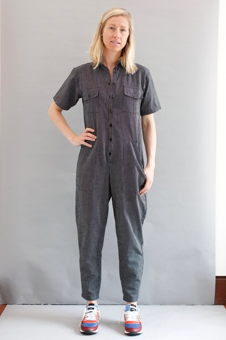 OZMA Painter's Jumpsuit - Petite Stripe