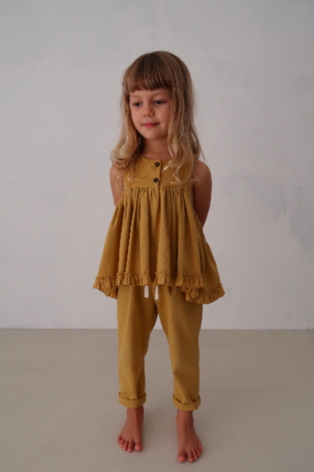 Kids House of Paloma Yves Pant - Marigold