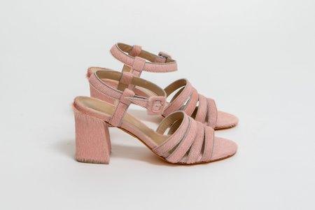 Maryam Nassir Zadeh Palma High Sandal - Light pink