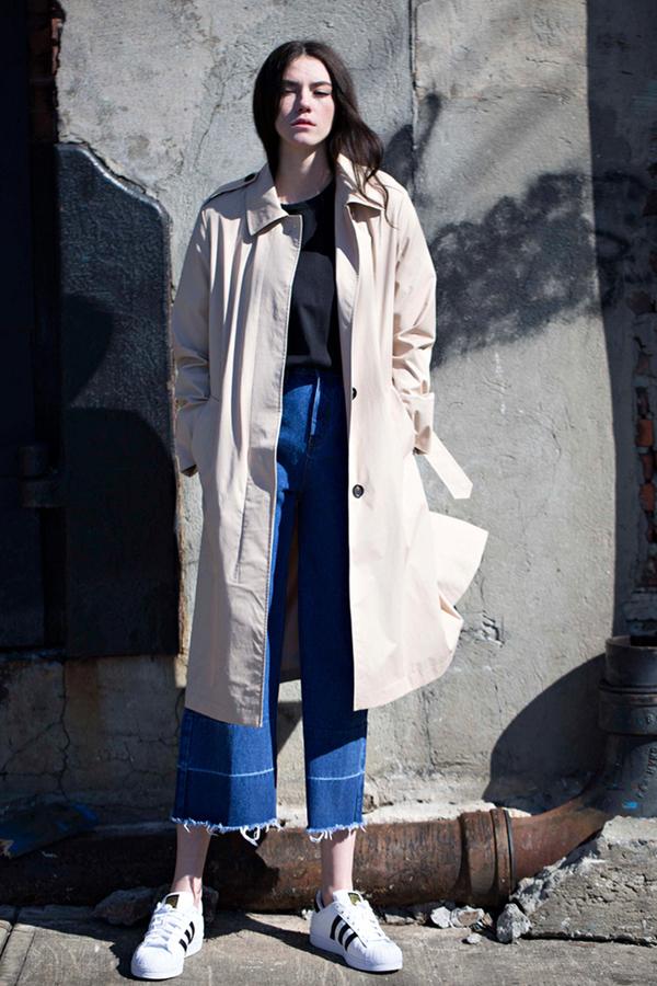 Lookast High Waist Wide Denim Pants- Light Blue