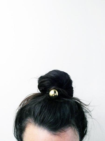 Saskia Diez Belle Hair Tie - Gold