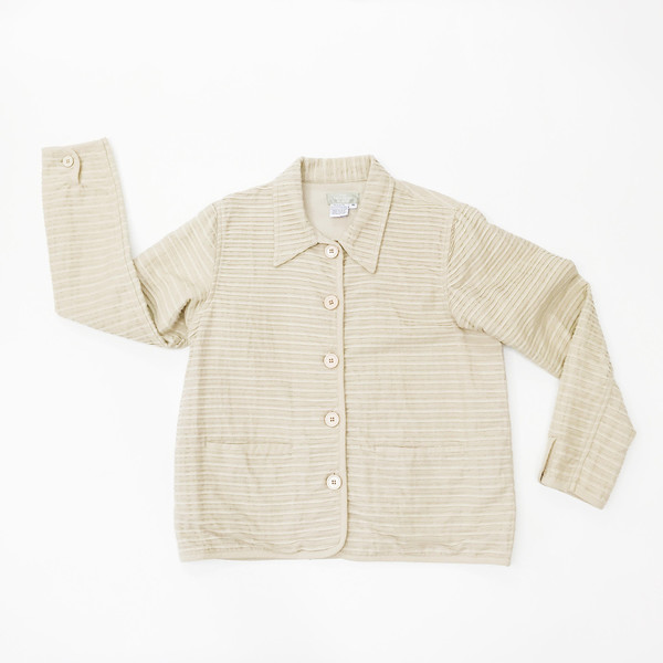 Khaki Cotton Work Jacket