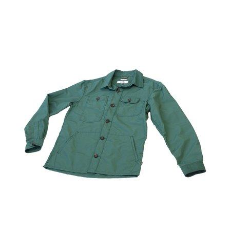 Freemans Sporting Club Camp Nylon Shirt - Green