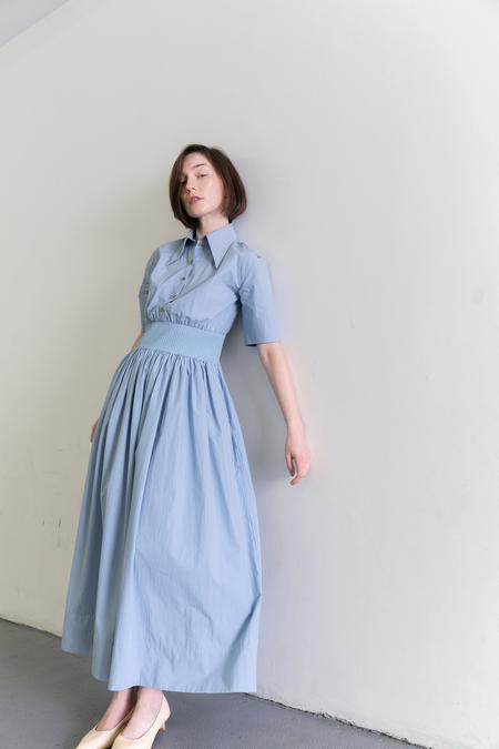 SAMUJI DUSTINE DRESS - LIGHT BLUE