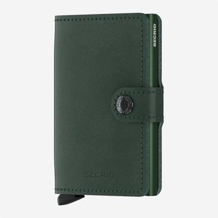 SECRID Mini Wallet - Original Green