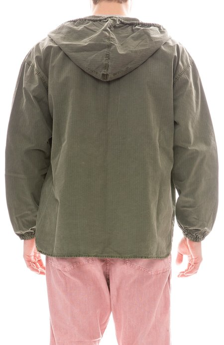 DR COLLECTORS Oversized Slouchy Jacket - ARMY GREEN