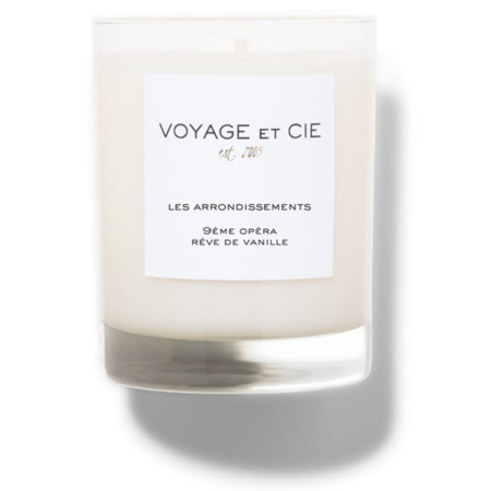 Voyage Et Cie 9ÈMe OpÈRa RÊVe De Vanille Candle