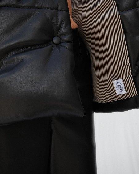 Nanushka HIDE Puffer jacket - Black