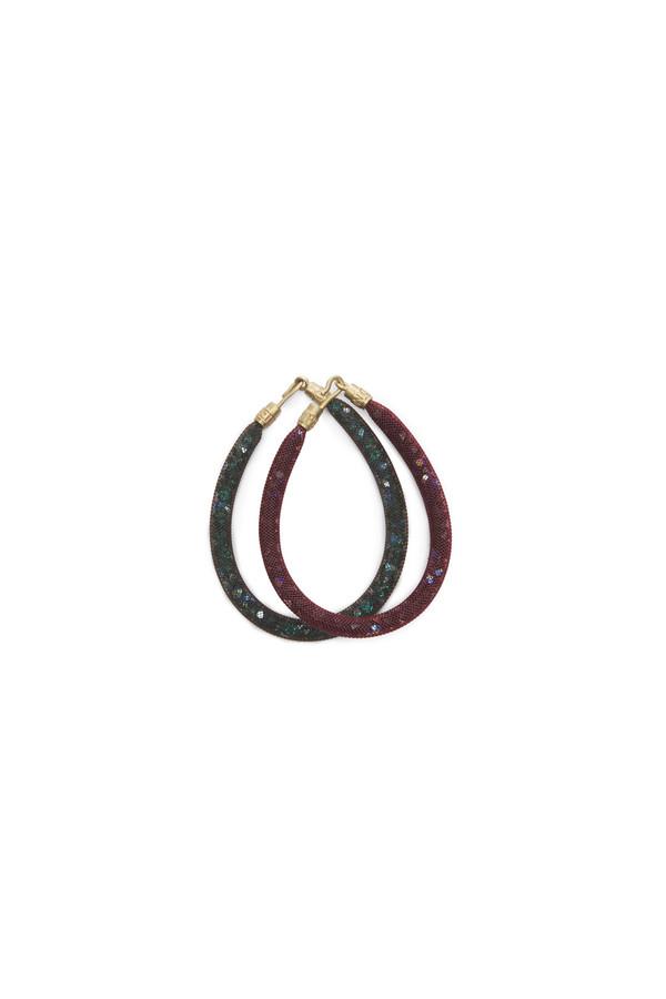 Peppercotton Thin Bracelet - Wine