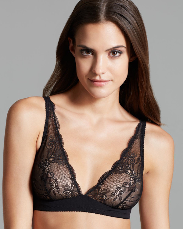Cosabella Trenta Soft Bra in Black