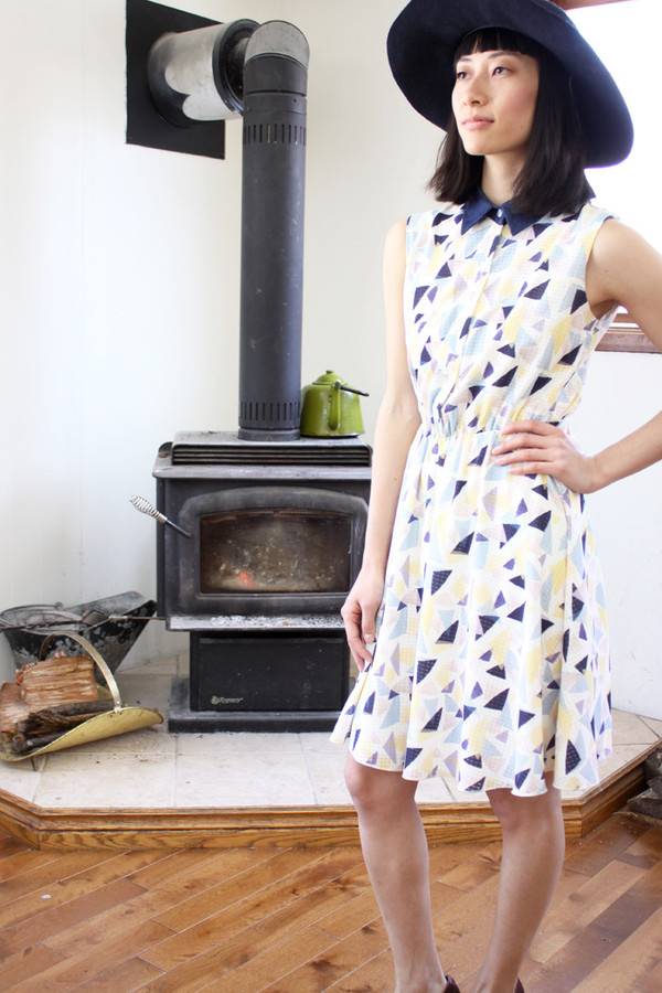Eve Gravel Sundae Dress