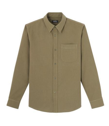 A.P.C. Trek Overshirt - Khaki