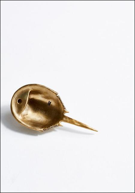 Matthew Hall Horseshoe Crab Bottle Opener - BRUSHED BRONZE