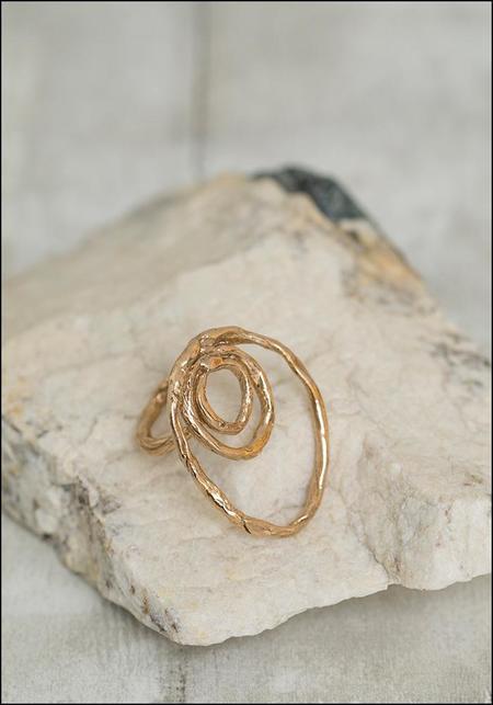 Miriam Nori Triple Circle Ring - Bronze