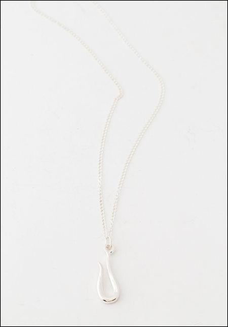 LHN Silver Hook Necklace - sterling silver