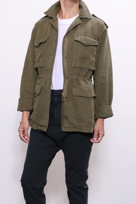 Nili Lotan Wren Jacket - Uniform Green