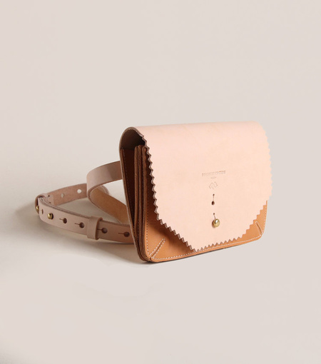 Fleabags Accordion Waist Wallet - Vaqueta