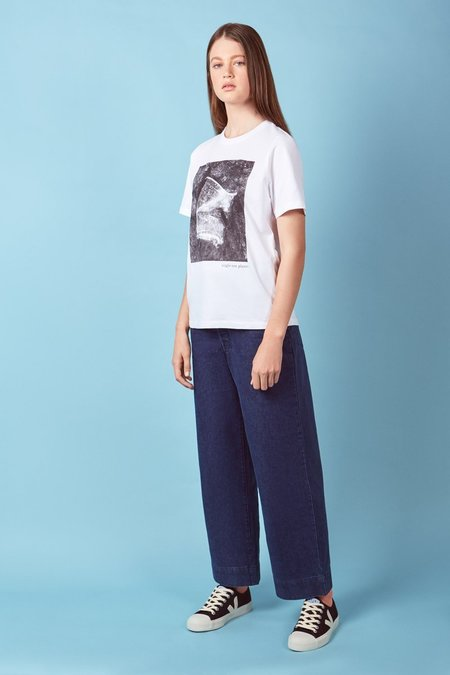 Kowtow Single-Use Cup Tee - White