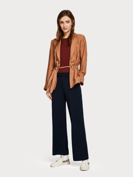 Maison Scotch Tailored Wide Leg Sweat Pants