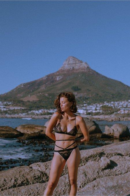 Nette Rose Rachel Full Back Bra - Black
