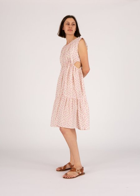 Caron Callahan Timora Dress - Clipped Dot