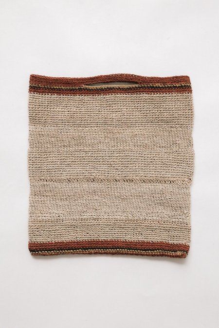 Pampa Litoral Woven Clutch #0366