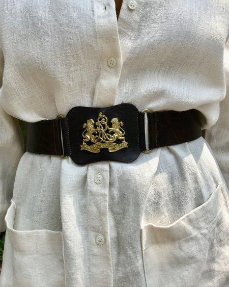Vintage Ralph Lauren Belt - brown